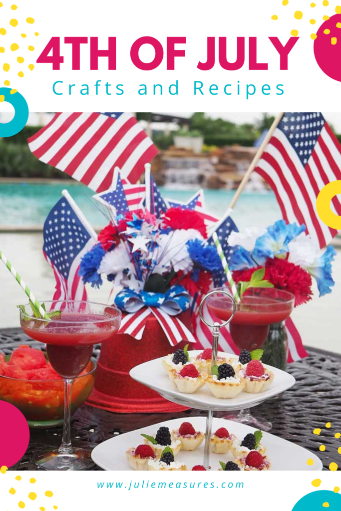 4th of july patriotic crafts and recipes
