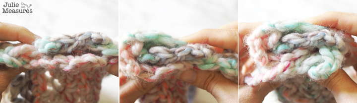 how to make crochet twist headband pattern