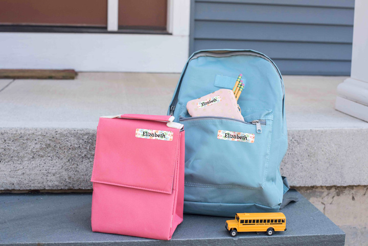 stay organized for back to school