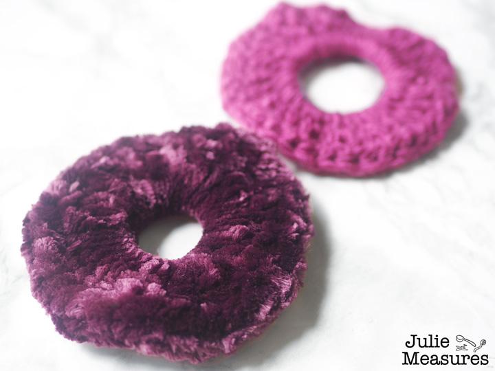 Crocheted Scrunchies