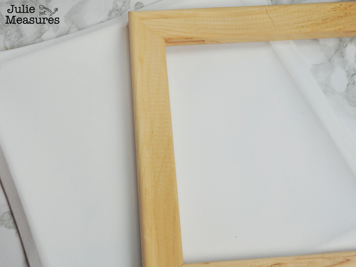 How to make a DIY Reverse Canvas