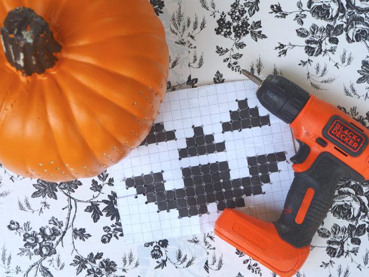 Cross Stitch Pumpkin