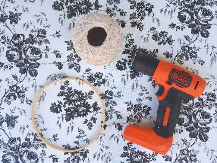 Embroidery Hoop Weaving Supplies